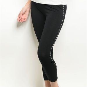 c11339258788cd Pants - Becca Black Tight Leggings with Studs